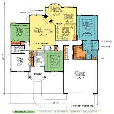 28 design basics house plans one story house plans with