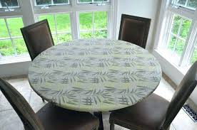 round table cloth covers fitted plastic table cloth round fitted plastic table cover with