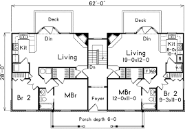 three plex floor plans a fourplex with distinction 57090ha architectural designs
