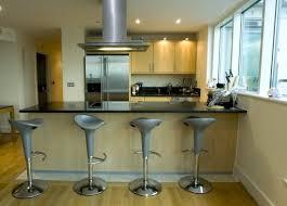 cuisine ouverte sur salon avec bar amiko a3 home solutions 2