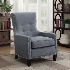 Riker Chair Riker Blue Accent Chair