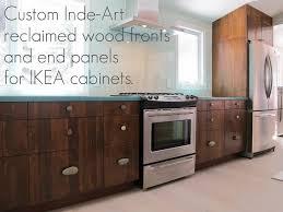 reclaimed wood kitchen cabinets kitchen gallery barbara u0027s ski chalet inde art hardwood fronts