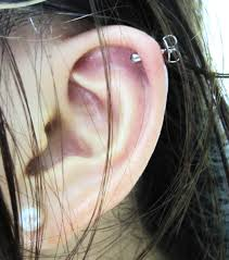 where to get cartilage earrings cartilage piercing facts precautions aftercare pictures