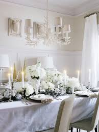furniture awesome christmas decoration ideas for party table