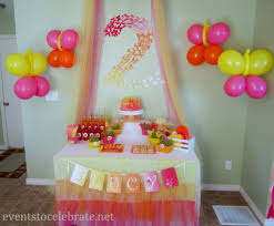 Balloon Decoration At Home Home Design Butterfly Themed Birthday Party Decorations Events To
