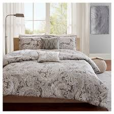 dierdre paisley cotton duvet cover set 5 piece target