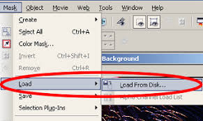 removing backgrounds using channel mask in corel photo paint