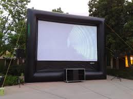 Backyard Movie Theatre by Outdoor Movie Nights U2013 Airbound Colorado