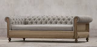chesterfield sofa restoration hardware deconstructed chesterfield rh