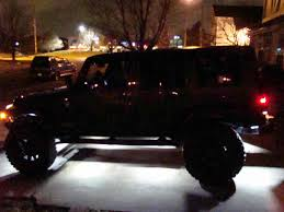 jeep wrangler rock lights new tantrum rock lights installed jk forum com the top