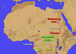 Map Of Egypt In Africa by The Fashoda Incident