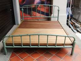Antique Metal Bed Frame Bed Frames Antique Iron Beds Value Antique Wrought Iron Bed