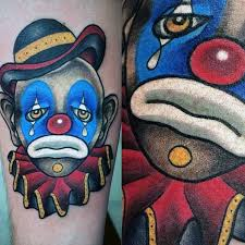 100 sad clown tattoo clown tattoo ideas best clown tattoos