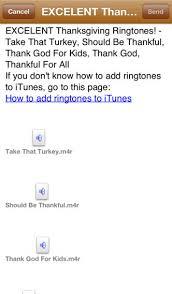 thanksgiving ringtones on the app store