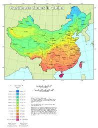 Gardening Zones - plant hardiness zone map for china