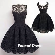 simple dresses formal dress simple black a line lace homecoming dressesshort