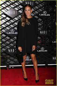 lexus new york city olsen twins u0026 sarah jessica parker lexus design event photo