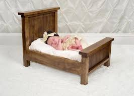 handmade small baby prop bed by zep u0027s photography props