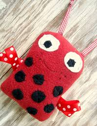 ladybug ribbon ribbon bugs stuffie free pattern