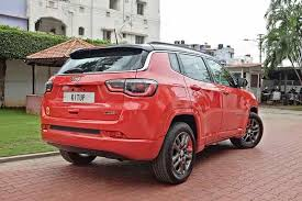 modified jeep 2017 modified jeep compass rear side india car news
