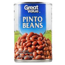 great value pinto beans 15 5 oz walmart com