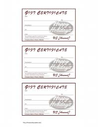 100 free christmas gift certificate templates gift