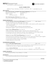 Resume Gpa Order Of A Resume Resume For Your Job Application