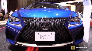 2016 lexus rc f quarter mile 2016 lexus rc f exterior and interior walkaround 2015 tokyo