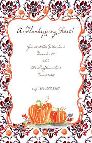 thanksgiving invitations free templates thanksgiving invitation card and postcard designs to inspire you