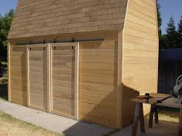 Sliding Barn Door Construction Plans Make Sliding Barn Doors Using Skateboard Wheels 7 Steps With