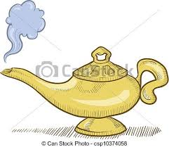 genie lamp clipart many interesting cliparts