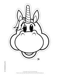 25 unicorn mask ideas diy unicorn party diy