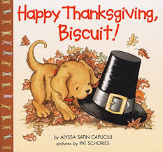 happy thanksgiving biscuit alyssa satin capucilli pat schories