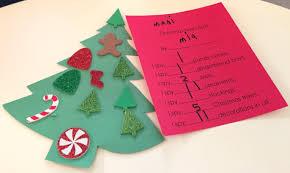 christmas trees and reindeer preschool activities