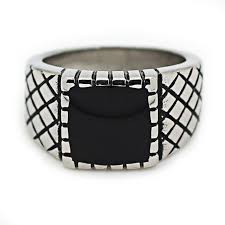 aliexpress buy new arrival cool charm vintage top quality cool boy silver black ring for men charm classic