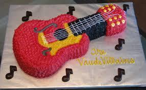 guitar cakes u2013 decoration ideas little birthday cakes