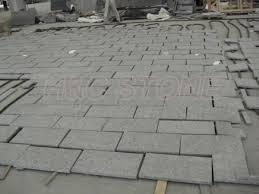 steel grey granite paving tiles h c