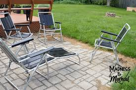 Antique Patio Furniture Makeover Madness  Method - Antique patio furniture