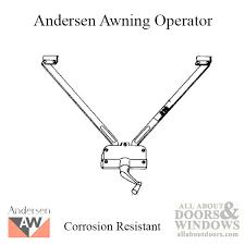 Andersen Awning Window Andersen Awning Window Parts U0026 Hardware