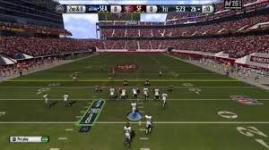 san francisco 49ers play the seahawks at levi u0027s stadium in madden