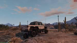 off road car benefactor dubsta 6x6 off road multiple options gta5 mods com
