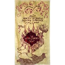 Marauder Map How Pot Helped My Brother Find The Marauder U0027s Map