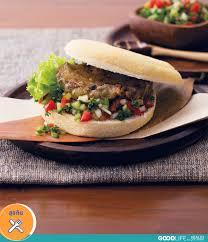cuisine burger veggie burger เมน จานด วนแต ไม เส ยส ขภาพ