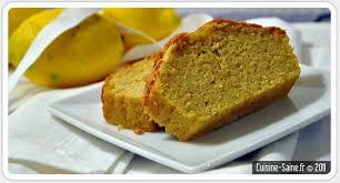 cuisiner sans lait et sans gluten recette sans gluten cake au citron style hermé