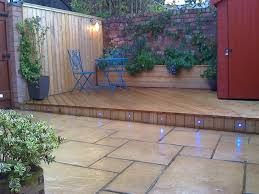 garden ideas decking and paving quamoc