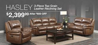 Amax Leather Furniture High Quality Top Grain Leather At Living Room Costco