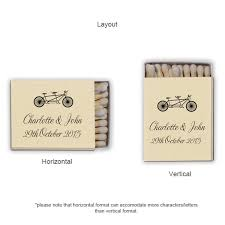 wedding matchbooks personalized demi wedding matches personalized matches