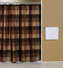 Accessories Kirsch Curtain Rods Intended by Blue Plaid Shower Curtain Shower Curtain Pinterest Plaid