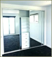 Closet Door Sliding Bedroom Closet Mirror Sliding Doors Superlative Mirror Sliding