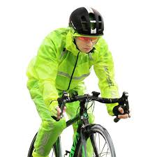 raincoat for bike riders outdoor mountain bike cycling raincoat set compressed windshield